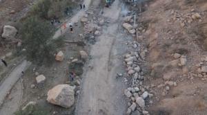 Desprendimiento de tierra causa cierre de vía a Mallasa y Río Abajo