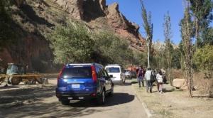Alcaldía habilita paso vehicular y peatonal provisional hacia Mallasa