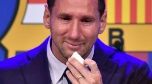 Messi se despide entre lágrimas del Barcelona