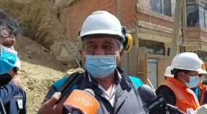 Trabajo de la Alcaldía logra estabilizar el terreno en Cotahuma y evita el desplome de seis viviendas