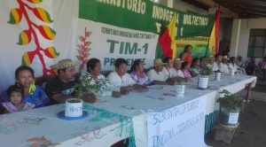Indígenas del TIM 1 anuncian bloqueo de carretera para exigir al TCP la aprobación de su estatuto