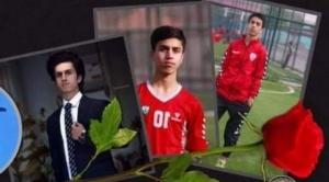 Afganistán: el futbolista de 19 años que murió al caer de un avión de EEUU que despegó de Kabul
