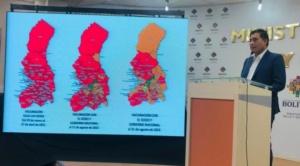 Gobierno informa que La Paz tiene el menor porcentaje de vacunados en el área rural y que el área urbana tiene el 95% de inmunizados