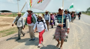 Marcha repone parlamento indígena y aglutina pueblos de cuatro departamentos del país