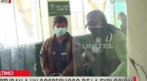 Aprehenden al presunto autor de la explosión ocurrida en cercanías de la Alcaldía de La Paz