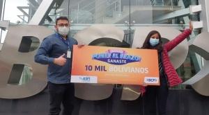 El BCP ya tiene 10 ganadores de Bs 10.000 entre sus clientes vacunados contra el COVID-19