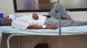 Marcial Fabricano es internado en el hospital San Juan de Dios de Santa Cruz
