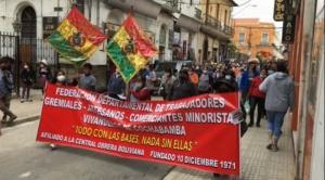 Gremiales dan 72 horas al Gobierno para abrogar la Ley 1386; amenazan con movilizaciones 1