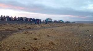 La explotación del oro contamina con aguas ácidas al río Suches que desemboca en el Titicaca 1