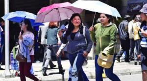 Alcaldía alerta de ola de calor, lluvias y alta radiación solar en La Paz