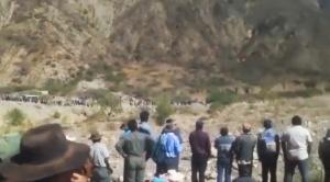 Gobierno insta a dialogar a pobladores de Capinota y Sicaya tras enfrentamientos por agua 1