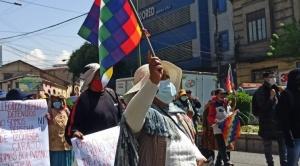 Marchistas de Sacaba y Senkata exigen reunión con el Presidente; rechazan a Lima 1
