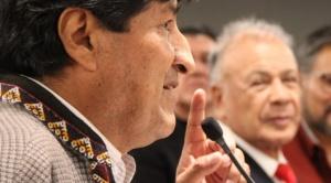 """Seguidores destacan la """"lucha"""" de Evo Morales en sus cumpleaños 1"""