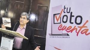 """Iniciativa estratégica """"Tu Voto Cuenta"""" anuncia que publicará conteo rápido de votos a las 20.00 horas del día de elecciones 1"""