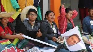 X Marcha Indígena permanecerá en atrio de la Catedral de la capital cruceña, a pesar de Auto de Buen Gobierno 1