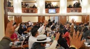 MAS aprovecha su mayoría y aprueba ley de inmunidad para dirigentes que generaron violencia y saqueos 1