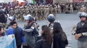 Gobierno despliega 70 mil uniformados en el país ante amenazas de protestas