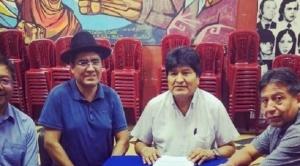 """""""Precandidatos"""" del MAS se comprometen a """"mantener la unidad"""" 1"""