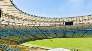 Río de Janeiro inauguró un hospital de campaña en el mítico estadio Maracaná
