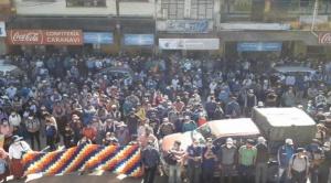 Ministro anuncia acciones legales contra dirigentes que convocaron a movilización en Caranavi