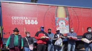 Amaszonas, CBN y Farmacorp trasladarán más de 20 toneladas de alimentos y medicamentos a Beni