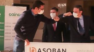 ASOBAN dona Bs 2,8 millones para habilitar centro de recuperación en la FEXPOCRUZ