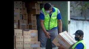 Nestlé dona alimentos para pacientes y médicos del centro de aislamiento COVID-19 de la Fexpocruz