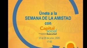 BancoSol celebra la semana de la amistad con sus aliados