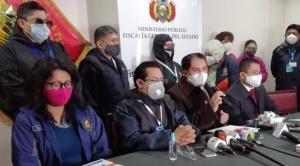 """Fiscalía admite denuncia contra Huarachi, Evo, Arce y Choquehuanca por """"alentar los bloqueos"""" 1"""