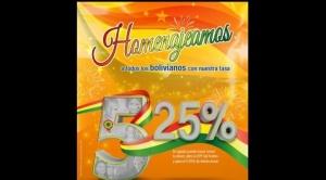 En el mes de Bolivia, DPF Sol Festivo paga el 5,25 % de interés a sus ahorristas