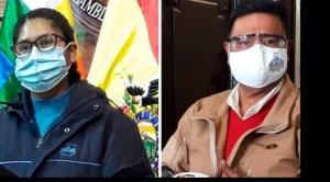 """Copa y Choque dicen que no pondrían """"las manos al fuego"""" por nadie ante las denuncias contra Evo"""