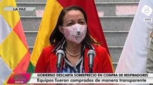 El Gobierno niega sobreprecio en la compra de 324 respiradores chinos