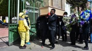 La Paz registra 55 fallecidos por coronavirus y por segundo día consecutivo