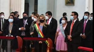 Añez promete inversiones por Bs 19 millones a Cochabamba en su efeméride