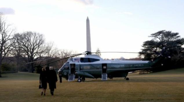 Trump deja la Casa Blanca y partirá hacia Florida en sus últimas horas como presidente de los EEUU