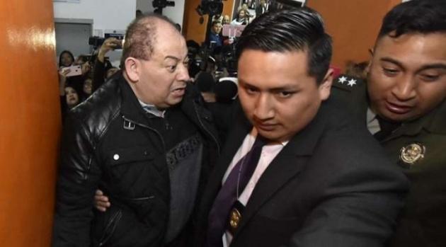 Ministro de Gobierno de Evo Morales remitido con detención preventiva a la cárcel de San Pedro